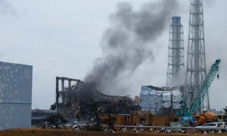 The Fukushima nuclear plant