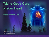 Title Slide to Taking Good Care of Your Heart Presentation